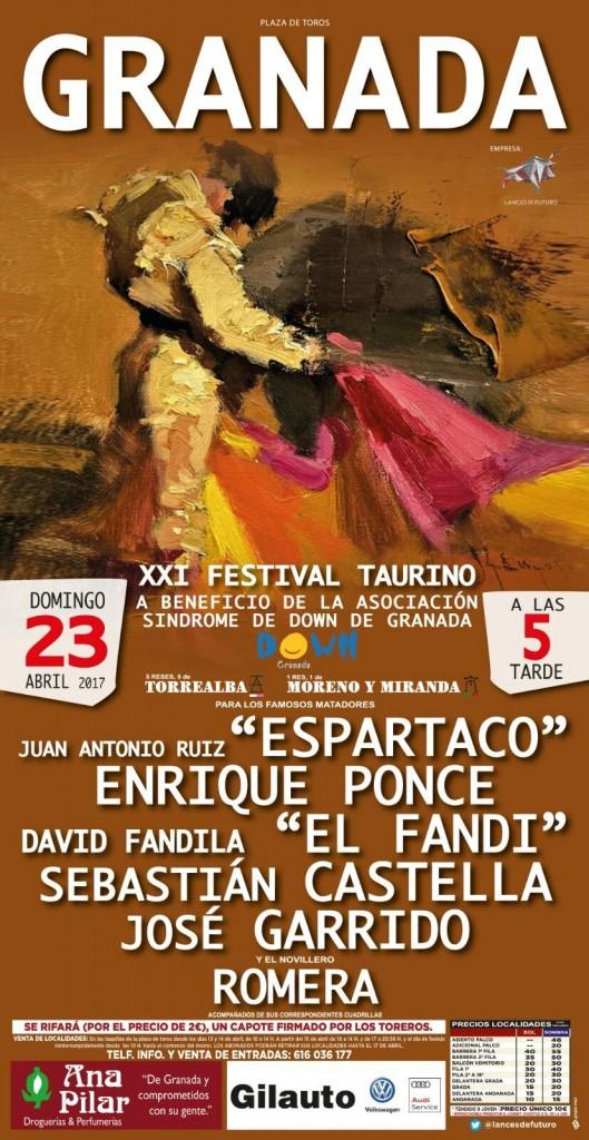 cartel Festival Taurino Down